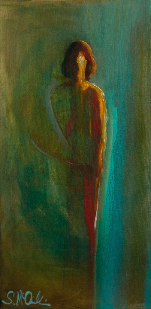 abstract figurative painting, spiritual artwork, contemporary artwork
