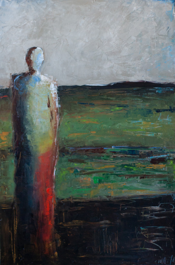 abstract figurative, contemporary artwork
