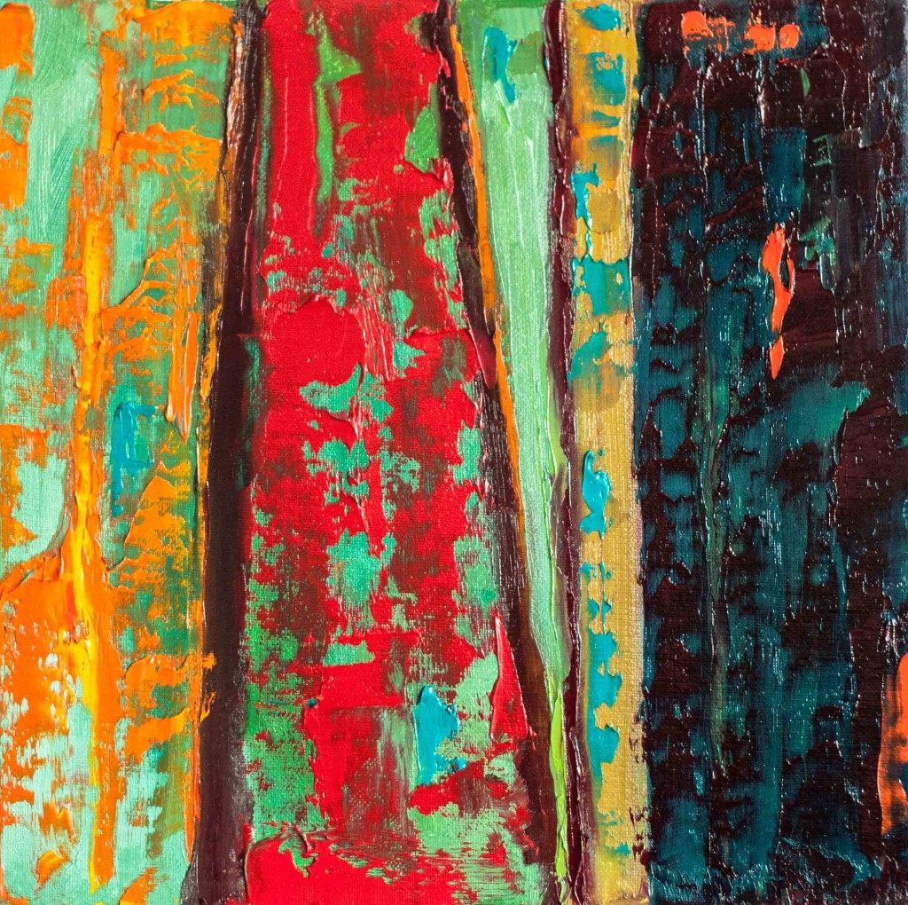 abstract, vivid color, texture, peeling paint,