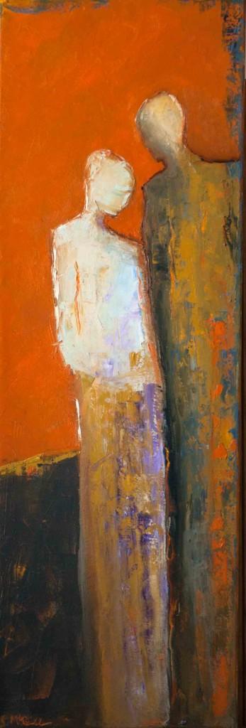 abstract figurative, contemporary figurative, bold colors, contemporary artwork,