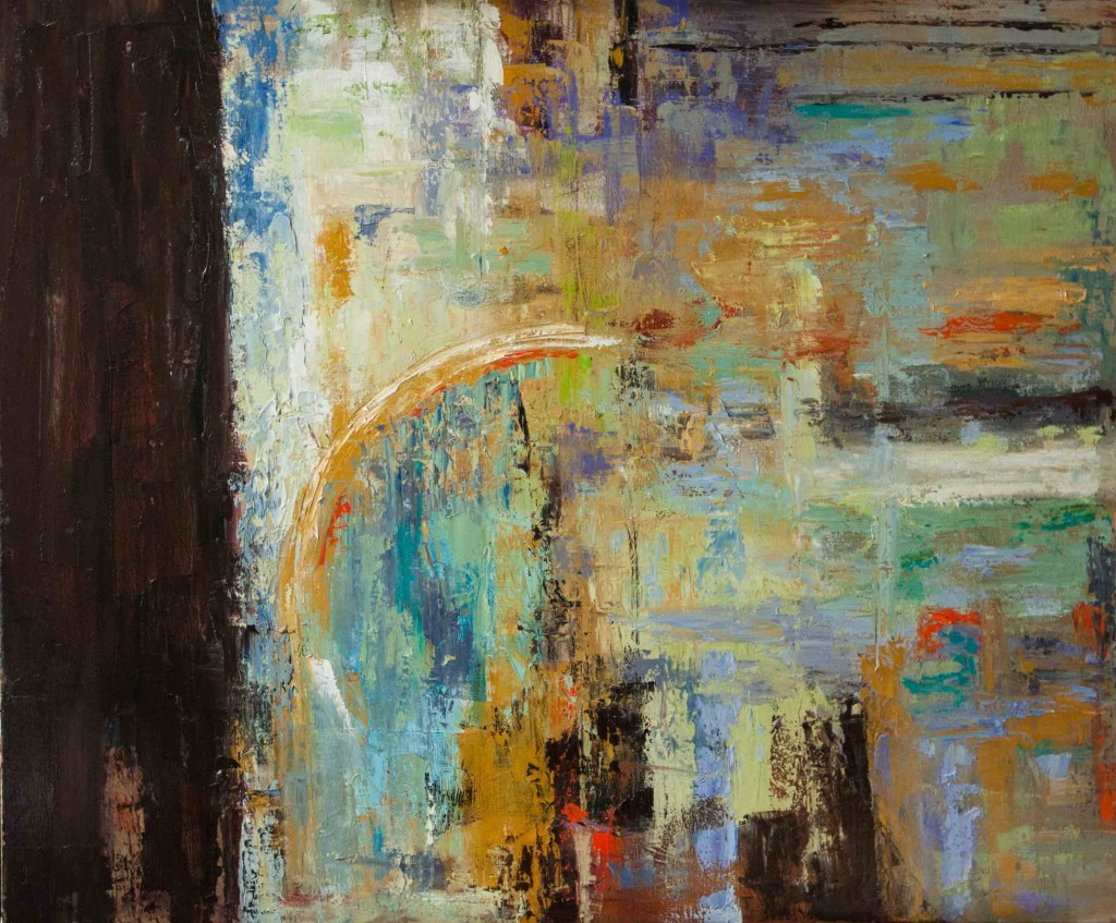 abstract, oil painting, contemporary art, expressive art