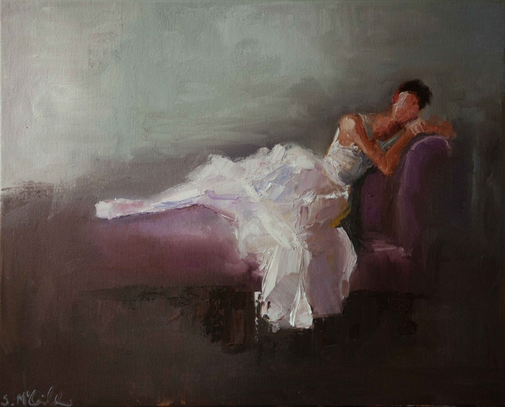abstract figurative, ballet, dancer, romantic, oil painting, contemporary,