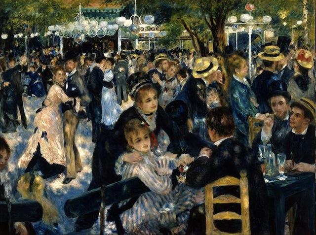 Auguste Renoir, paris, Montmatre,